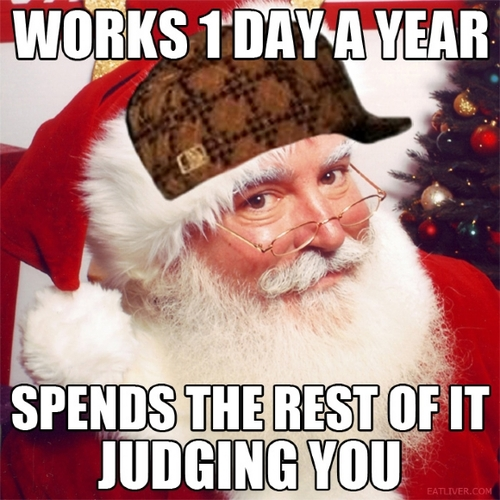 Funny Santa Meme : Weekend fat christmas memes
