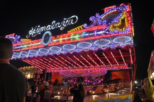 Alabama National Fair 2017  |Alabama Fair Rides