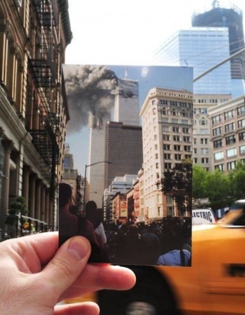 World Trade Center Now And Then