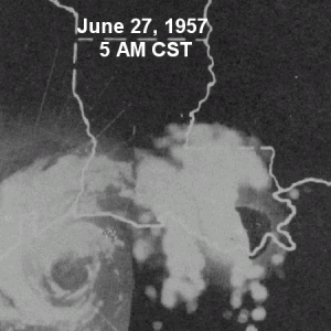 Hurricane Audrey Radar