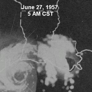 Hurricane Audrey Radar