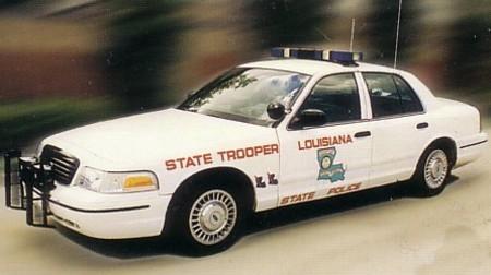Louisiana-State-Police-Car