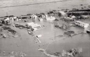 Hurricane Audrey Damage