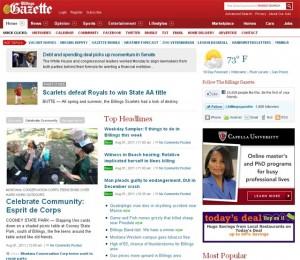 Billings Gazette Homepage