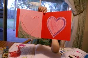 child's valentine