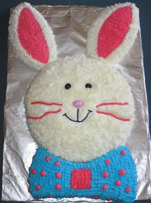 Easy Bunny Cake For Your Easter Dinner