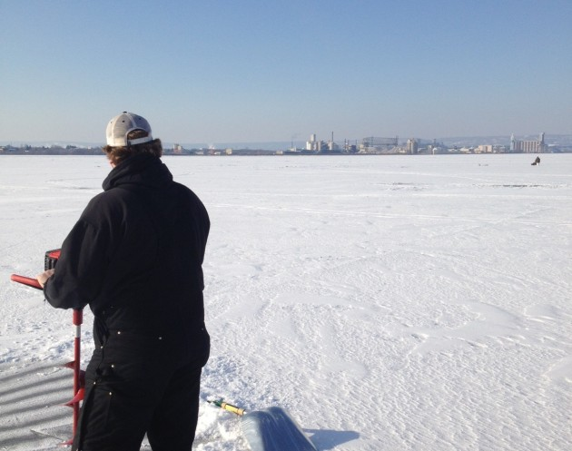 Duluth superior ice fishing report for Ice fishing reports