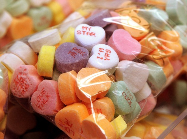... by Making Homemade Candy Conversation Hearts for Valentine's Day