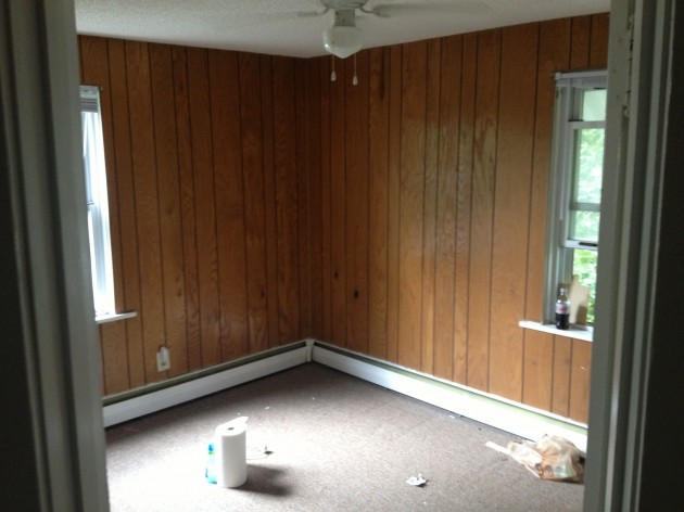 - Easy Way To Paint Wood Paneling [PHOTOS]