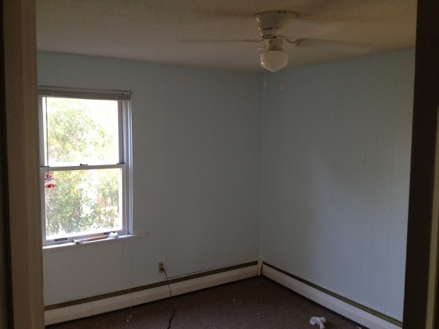 So that's the simple way to paint wood paneling. - Easy Way To Paint Wood Paneling [PHOTOS]