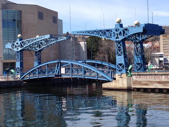 Minnesota Pedestrian Slip Bridge Opens For The Summer