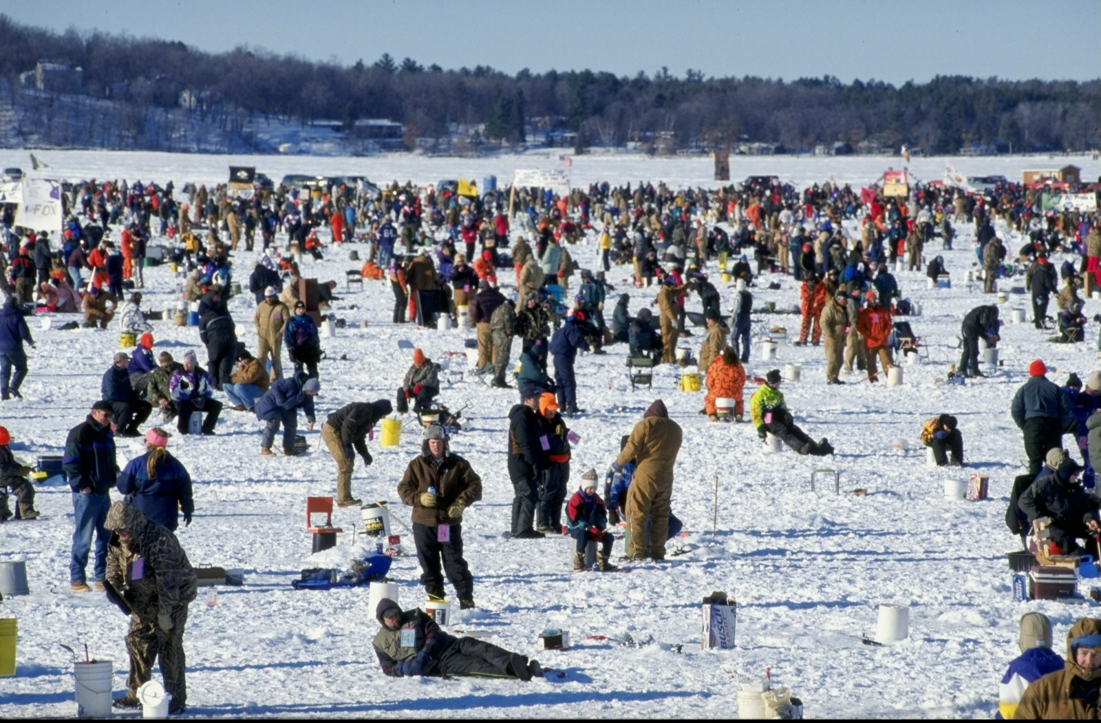 Last year 39 s vikings winterfest was in duluth this year for Mn ice fishing