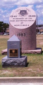 WWII Monument in Fort Hood