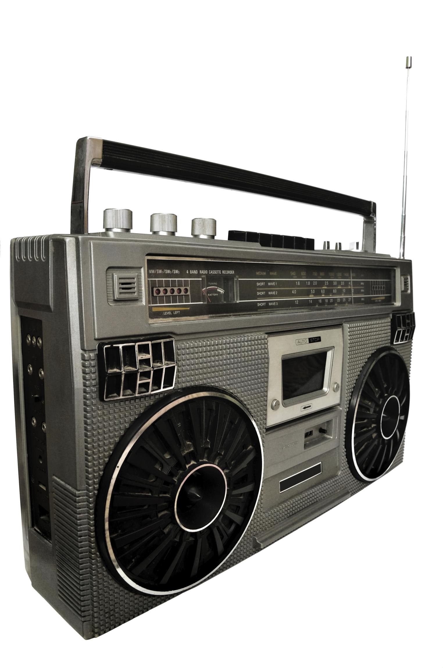 boom box 80s