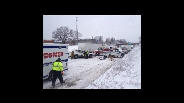 multiple car accident on northbound us 31