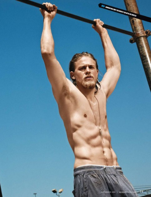 Charlie Hunnam – 'Sons Of Anarchy's' Jax – Wendy's Hunk Of ...