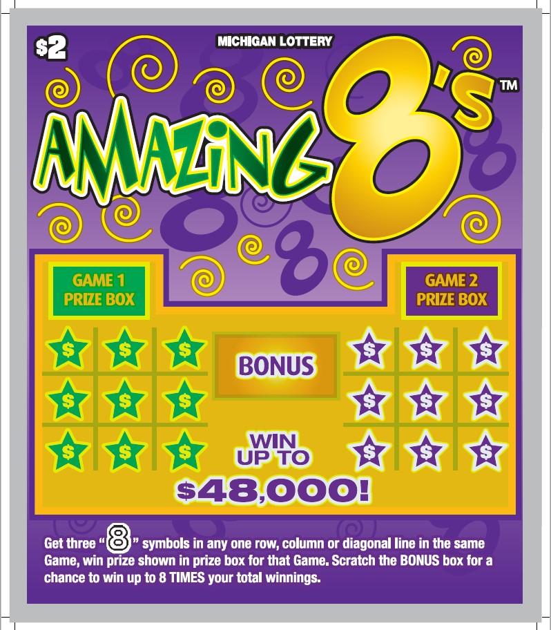 Amazing 8's via Michigan Lottery