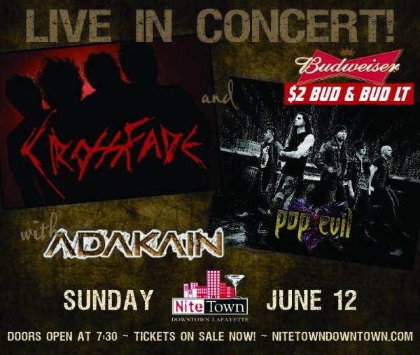 pop evil concert schedule