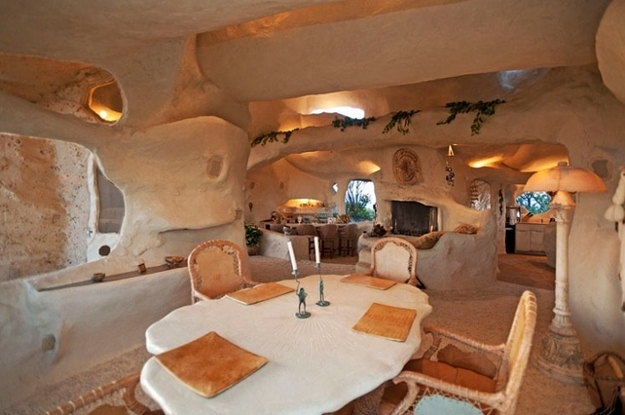 Dick Clark's 'Flintstones' House Could Be Yours [Pics]