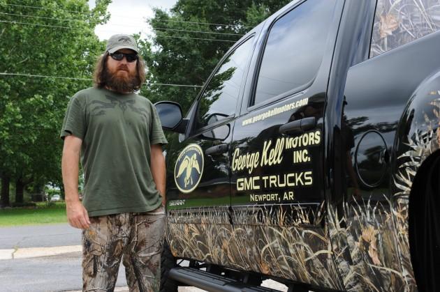 Jase Robertson New Truck