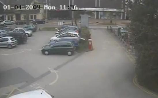 barra de parking vs coche