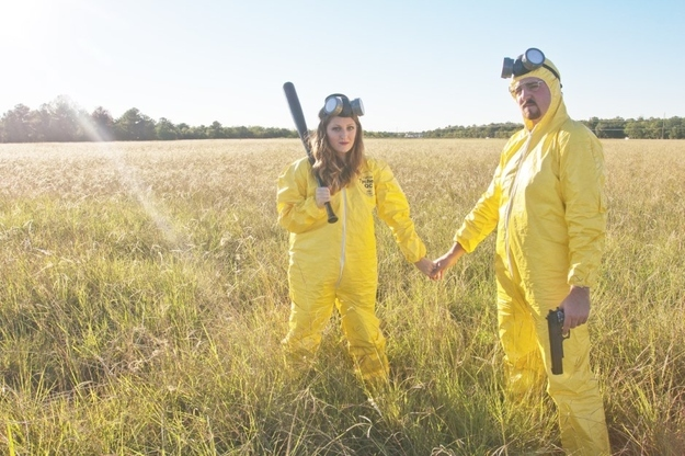 Newly Engaged Couple Take 'Breaking Bad' Themed Engagement ...