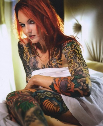 tattooed chick