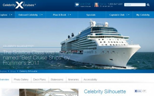 Celebrity Silhouette