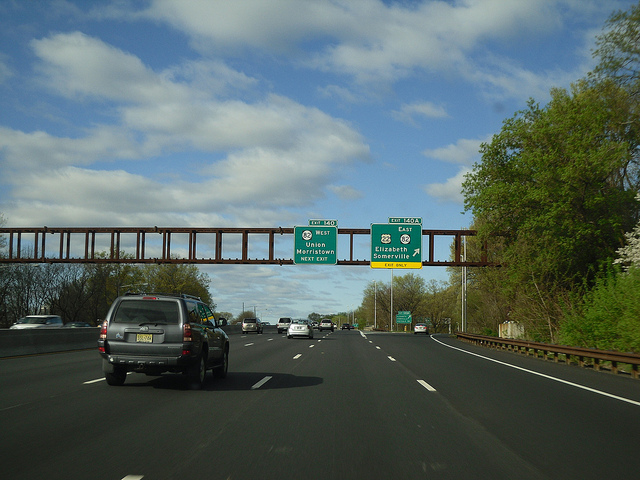 Garden State Parkway Going E Zpass Only Poll
