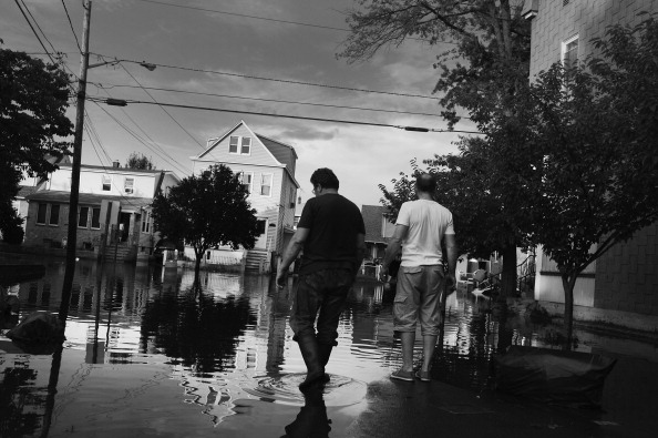 Fragments Of Daily Life Washed Away In New Jersey Flood Waters