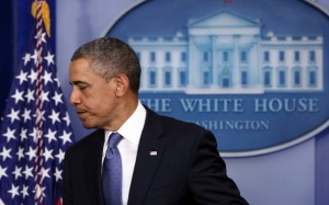 President Barack Obama makes statement on fiscal cliff negotiations