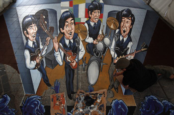 3D Beatles Artwork